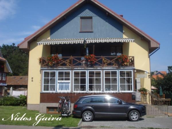 Kambarių ir buto nuoma rudeninėmis kainomis. Nidos gaiva - 1
