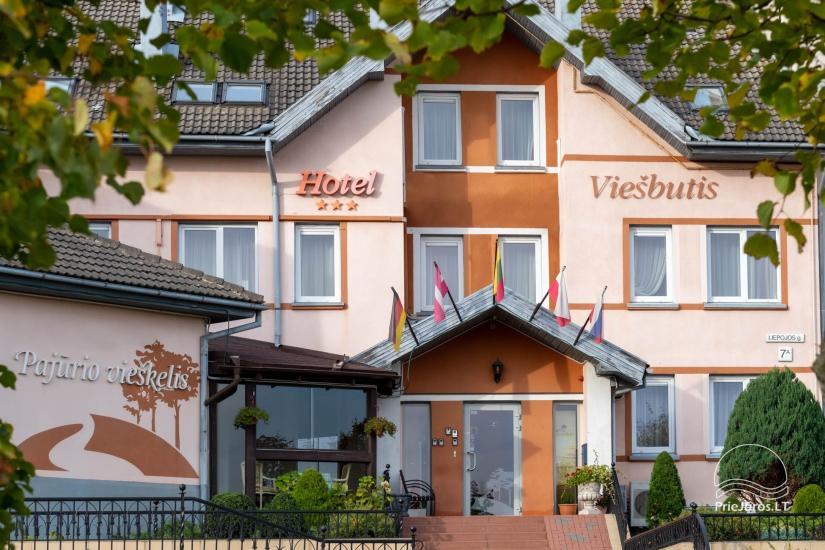 Pirties, baseino, biliardo nuoma Klaipėdoje viešbutyje Pajūrio vieškelis - 1