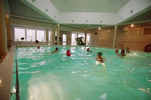 Baseinas su kaskadomis, sauna, gimnastikos salė sveikatos centre ENERGETIKAS - 1