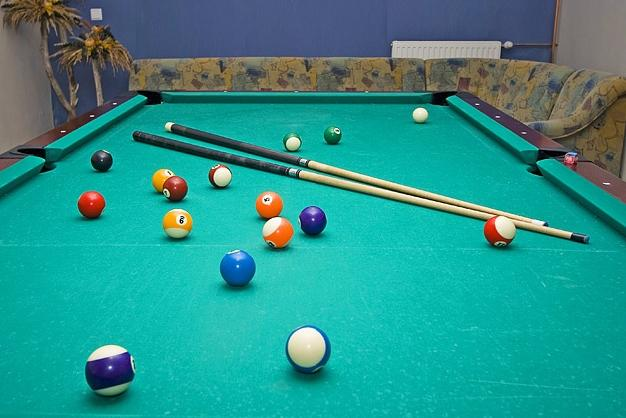 Billard in Hotel Austeja *** - 1