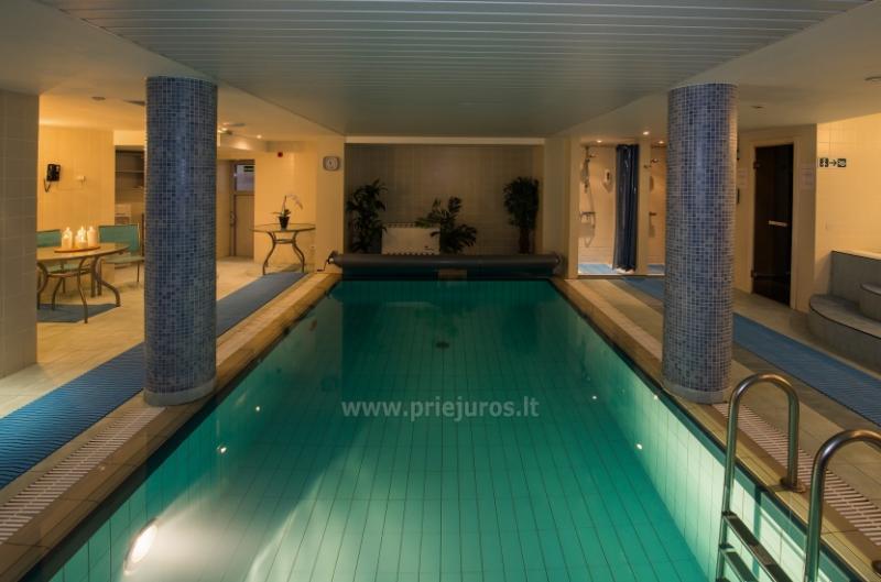 Schwimmbad, Sauna, Fitnesszentrum im Hotel PALANGOS VETRA ****