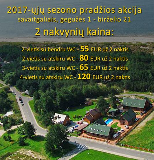 FROM 55 EUR per 2 nights! Apartments, bathhouse in homestead in Sventoji OSUPIO TAKAS - 2
