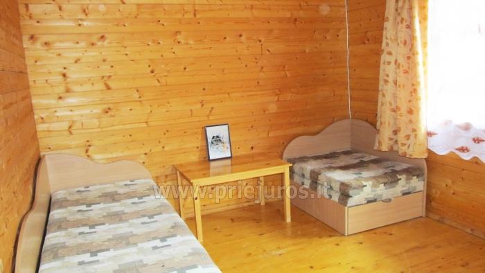 Džiugutis. Pirtis, kubilas, kambarių ir namelių nuoma sodyboje Šventojoje - 10