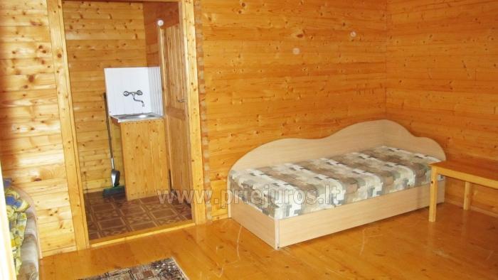 Džiugutis. Pirtis, kubilas, kambarių ir namelių nuoma sodyboje Šventojoje - 11