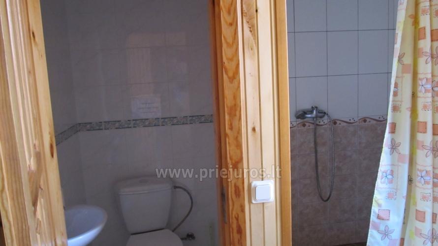 WC ir dušas prie pirties