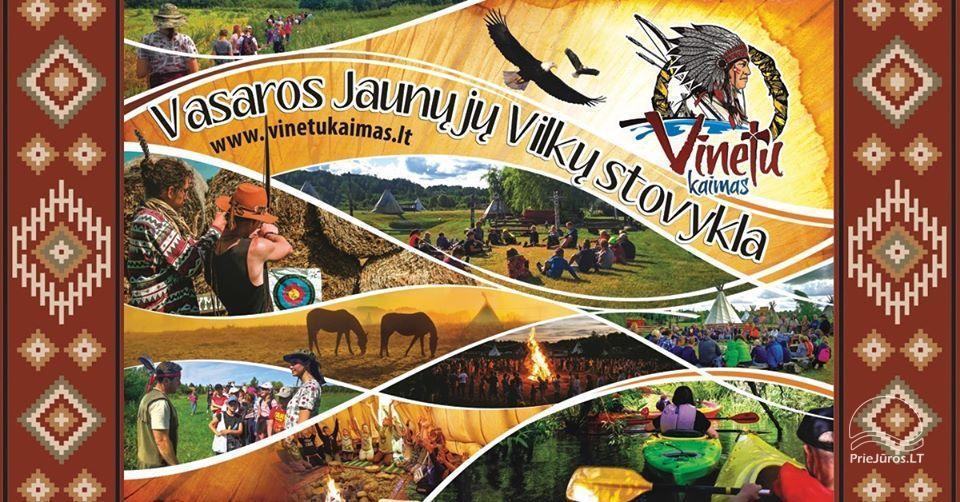 Vaikų vasaros stovykla sodyboje Vinetu kaimas - 1