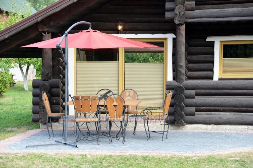 100 kv.m. rąstinis namas pardavimui Šventojoje. Pilnai įrengtas su uždaru kiemu - 6