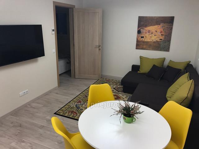 Naujos statybos 2 kambarių butas pušyne - 8