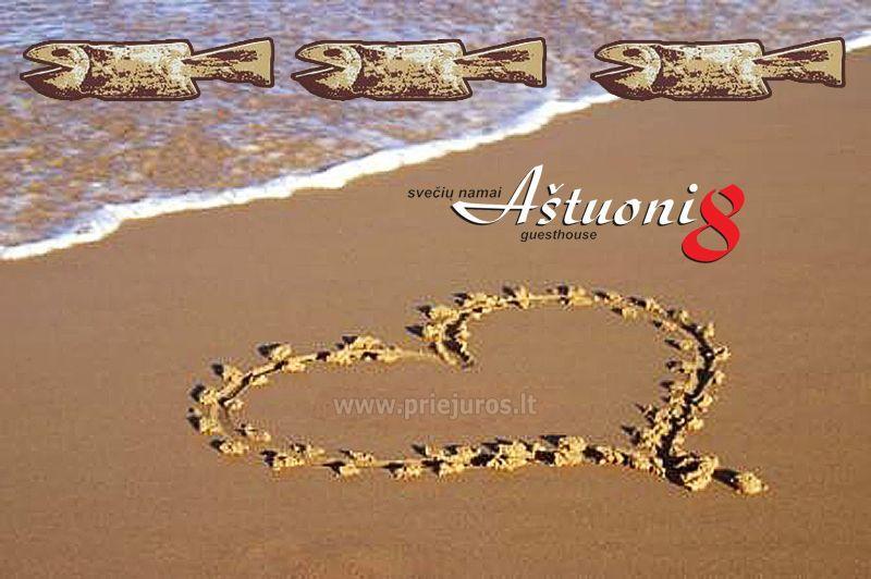 """Šv. Valentino diena ir šventė """"PALANGOS STINTA""""! Svečių namų """"Aštuoni"""" **** pasiūlymas! - 1"""