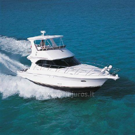 Luxury boat Silverton for rent - 2