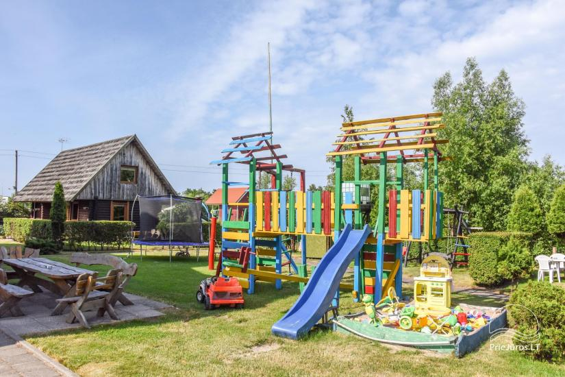 Pirties ir pobūvių salės nuoma prie jūros Šventojoje Poilsis pas Vytautą - 9