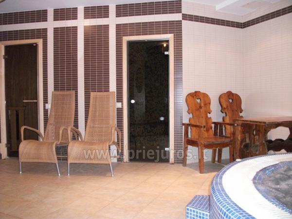 Pirčių kompleksas, sūkurinė vonia Nidoje kotedže Papūgos rojus