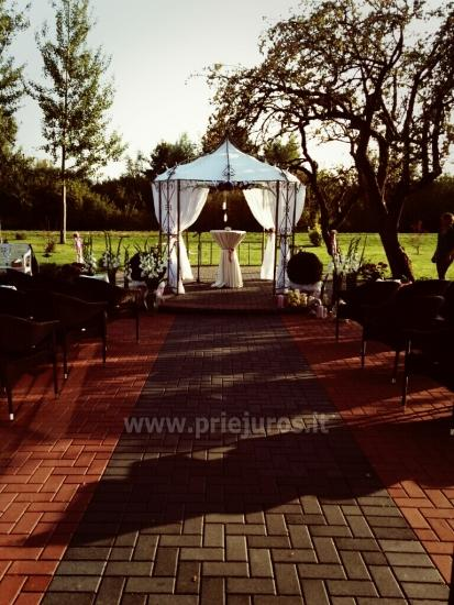 Vestuvės, šventės, konferencijos Rusnės saloje RUSNE VILLA - 2