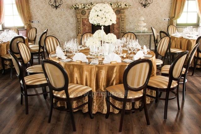 Vestuvės, šventės, konferencijos Rusnės saloje RUSNE VILLA - 12