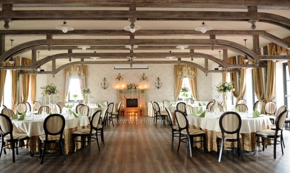 Vestuvės, šventės, konferencijos Rusnės saloje RUSNE VILLA - 13