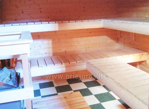 House with Sauna Rent in Palanga Villa Dovilas - 1
