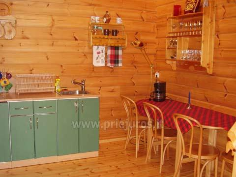 House with Sauna Rent in Palanga Villa Dovilas - 7