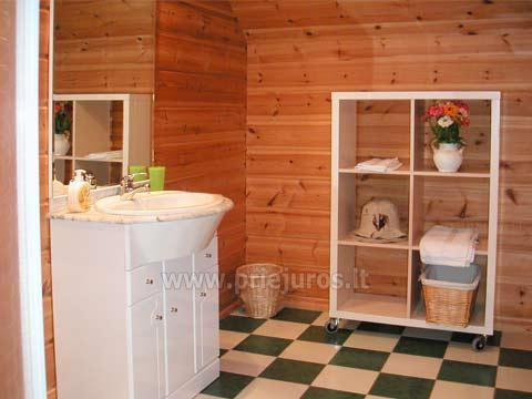 House with Sauna Rent in Palanga Villa Dovilas - 8