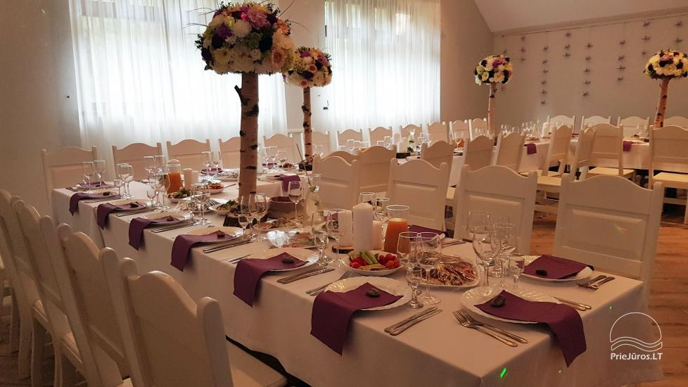 """20-60 vietų salės vestuvėms, seminarams sodyboje """"Laukdvaris"""" - 11"""