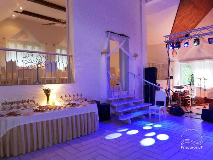 """20-60 vietų salės vestuvėms, seminarams sodyboje """"Laukdvaris"""" - 4"""