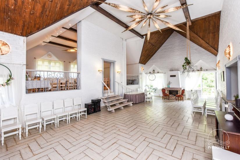 """20-60 vietų salės vestuvėms, seminarams sodyboje """"Laukdvaris"""" - 6"""