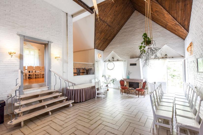 """20-60 vietų salės vestuvėms, seminarams sodyboje """"Laukdvaris"""" - 3"""