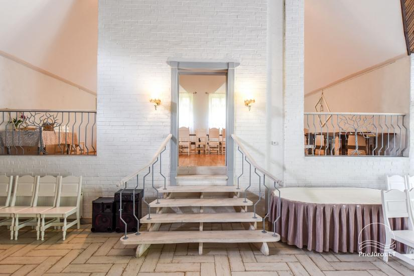 20-60-seat halls for celebrations and seminars in homestead Laukdvaris - 5