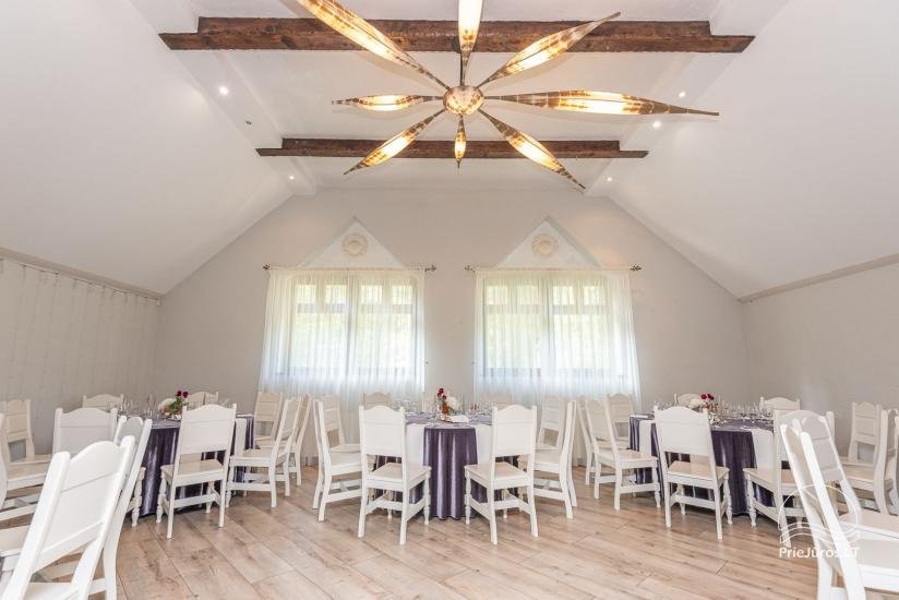 20-60-seat halls for celebrations and seminars in homestead Laukdvaris - 2