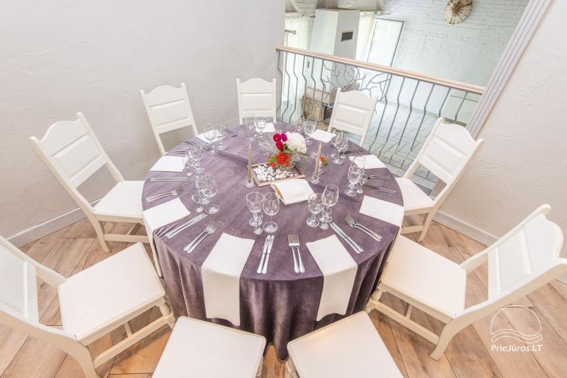 20-60-seat halls for celebrations and seminars in homestead Laukdvaris - 1