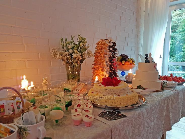 """20-60 vietų salės vestuvėms, seminarams sodyboje """"Laukdvaris"""" - 24"""