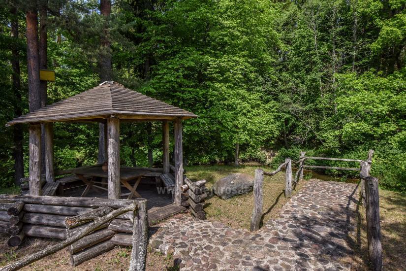 Bathhouse in homestead in Kretinga district Laukdvaris - 16