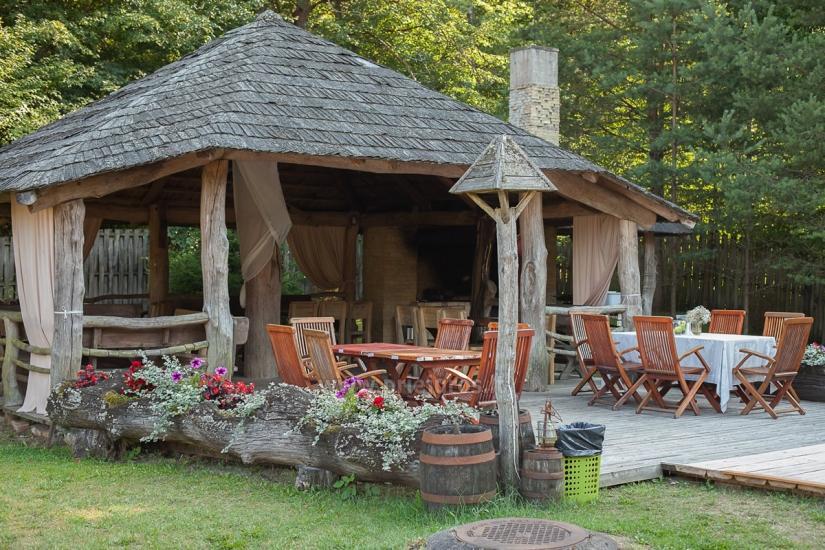 Bathhouse in homestead in Kretinga district Laukdvaris - 11