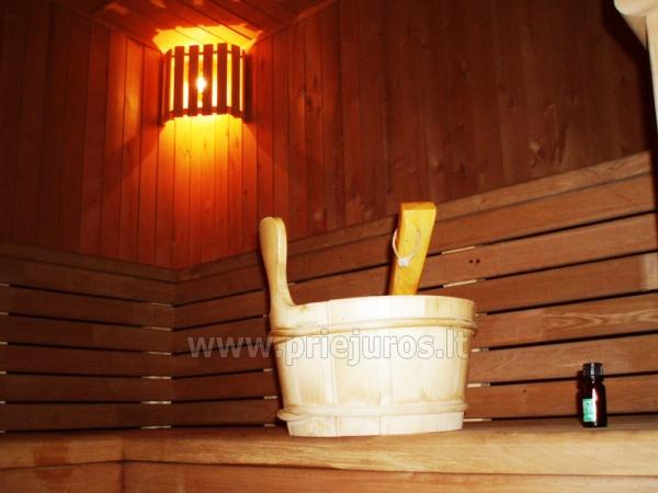 Pirtis, masažinė vonia, biliardas svečių namuose Palangoje Po Jūros banga - 4