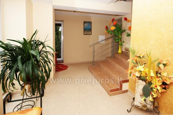 Pirtis, masažinė vonia, biliardas svečių namuose Palangoje Po Jūros banga - 11