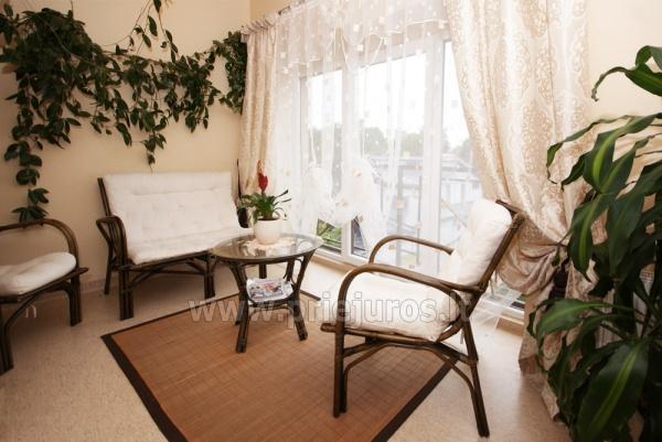 Pirtis, masažinė vonia, biliardas svečių namuose Palangoje Po Jūros banga - 12
