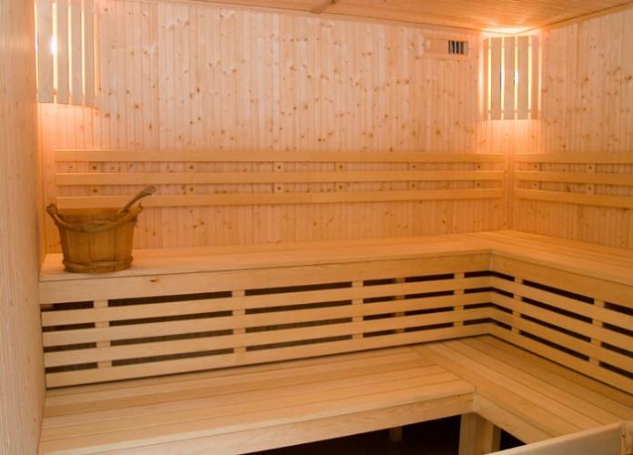 Baseinas, sauna viešbutyje PALANGOS LINAS *** - 2