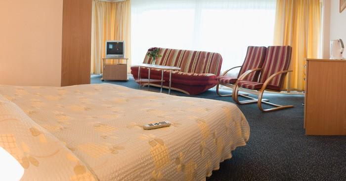 Baseinas, sauna viešbutyje PALANGOS LINAS *** - 7