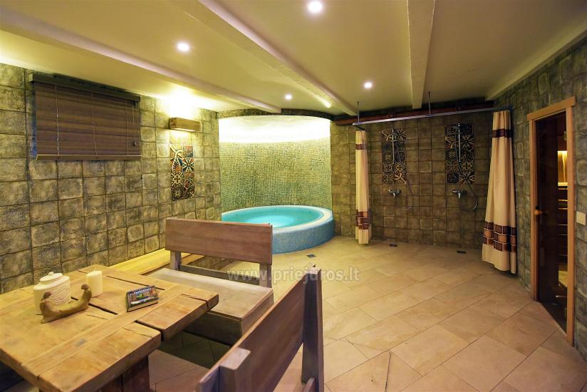 Sauna and jacuzzi. Guest house in Klaipeda KUBU. - 1