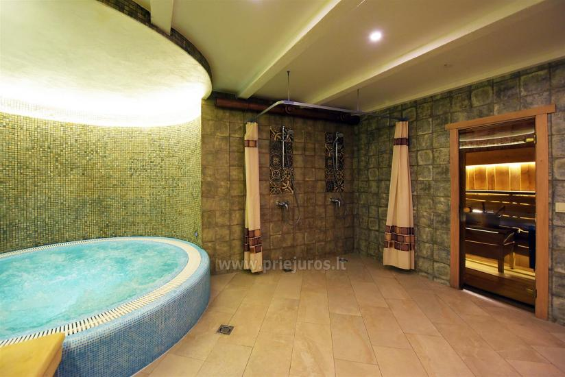 Sauna and jacuzzi. Guest house in Klaipeda KUBU. - 2