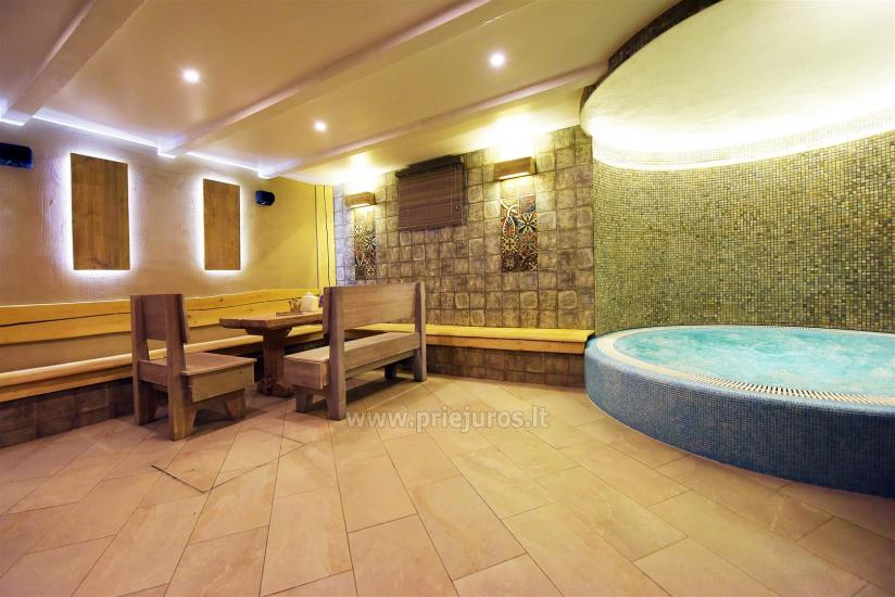 Sauna and jacuzzi. Guest house in Klaipeda KUBU. - 3