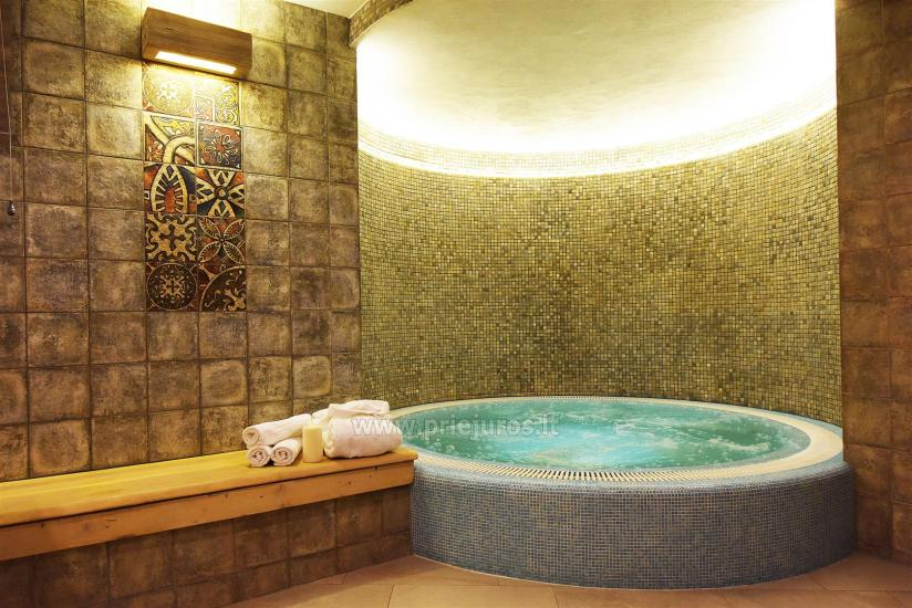 Sauna and jacuzzi. Guest house in Klaipeda KUBU. - 7