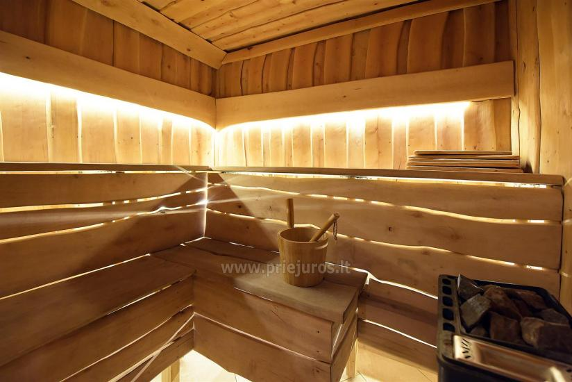 Sauna and jacuzzi. Guest house in Klaipeda KUBU. - 9
