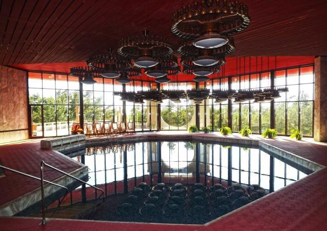 Schwimmbad und Sauna im Villa Auska *****