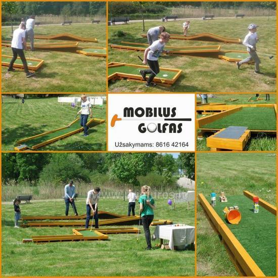 Pramoga visiems - Mobilus golfas!