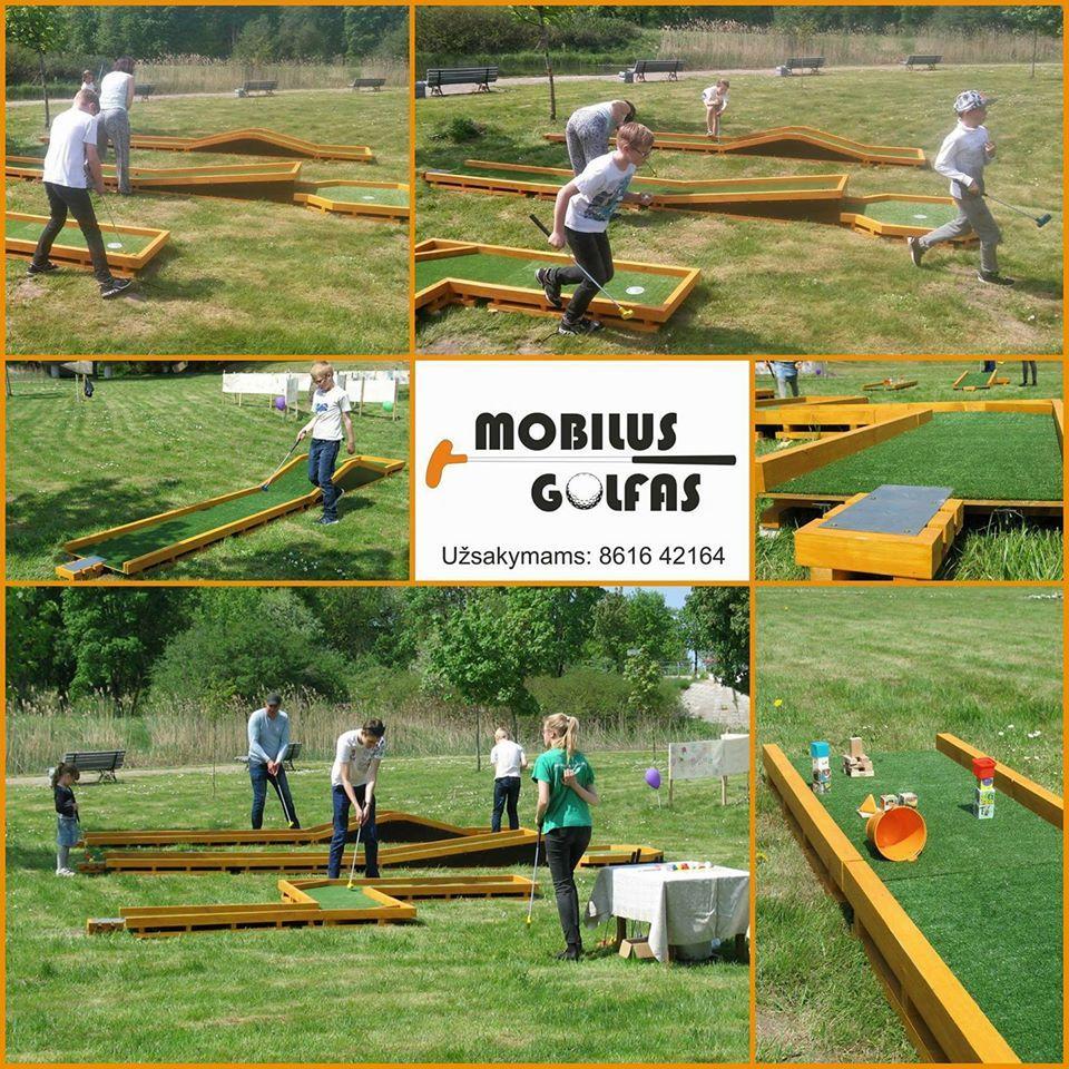 Pramoga visiems - Mobilus golfas! - 1