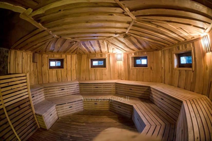 Outdoor bath Sirsiu lizdas for rent in Recreation and health complex Atostogu parkas - 6