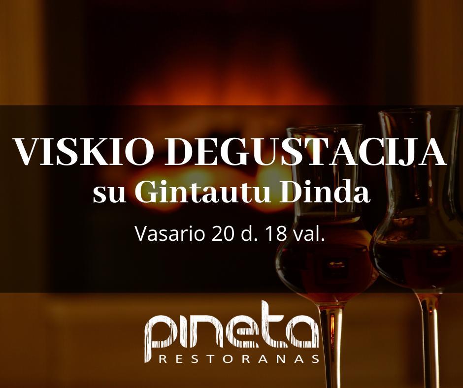 Viskio degustacija su Gintautu Dinda - 1
