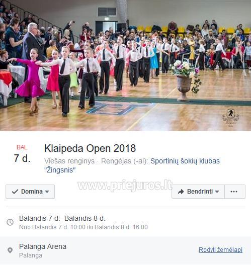 Sportinių Šokių, tarptautinio lygio varžybos Klaipeda OPEN 2018 - 1