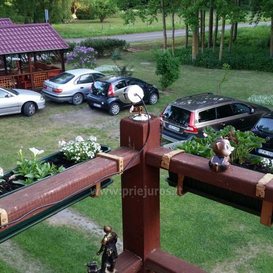 Vasaros kavinukė Šturmų sodyboje Ventėje - 2