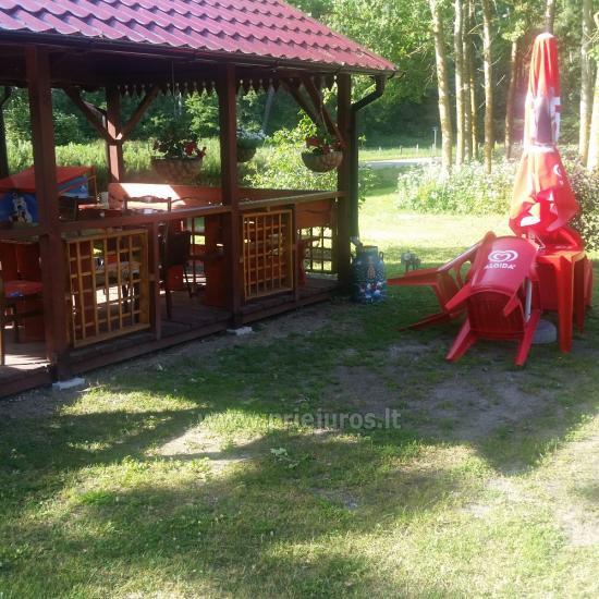 Vasaros kavinukė Šturmų sodyboje Ventėje - 3